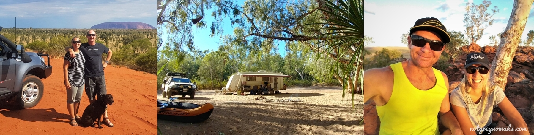 Destinations around Australia and Caravanning